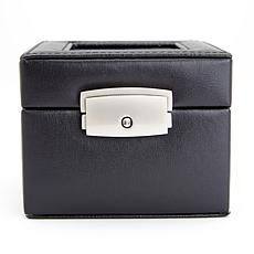 ROYCE Personalized Luxury 2-Slot Watch Box Display Case