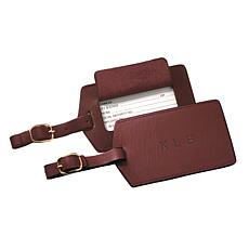 ROYCE Personalized Luxury Travel Luggage Tag