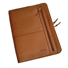 ROYCE Personalized Luxury Zip-Around Writing Portfolio