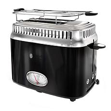 Russell Hobbs Retro-Style 2-Slice Toaster - Black