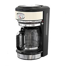 Russell Hobbs Retro-Style 8-Cup Coffeemaker - Cream
