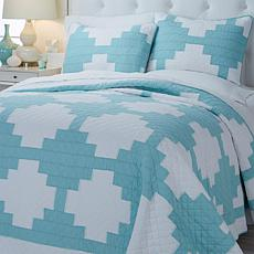 Sabrina Soto Napa 3-piece Cotton Quilt Set