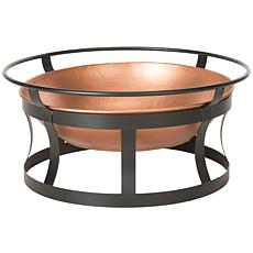 Safavieh Bonair Fire Pit with Grate and Poker