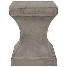 Safavieh Curby Concrete Accent Table - Gray