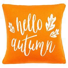"""Safavieh Hello Autumn 18"""" x 18"""" Pillow"""