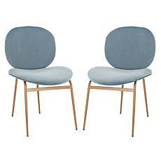 Safavieh Jordana Round Side Chairs
