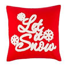 Safavieh Let It Snow Pillow