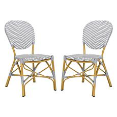 Safavieh Lisbeth French Bistro Stacking Side Chair