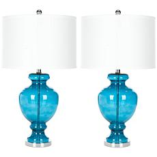"Safavieh Morocco 27"" Glass Table Lamp"
