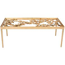 Safavieh Otto Ginkgo Leaf Coffee Table