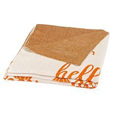 Safavieh Pumpkin Throw Blanket