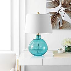 "Safavieh Rasby 27"" Glass Table Lamp"