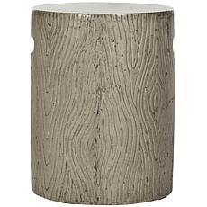 Safavieh Trunk Concrete Accent Table - Gray