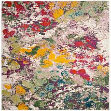 """Safavieh Watercolor Lara Rug - 6'7"""" x 6'7"""" Square"""