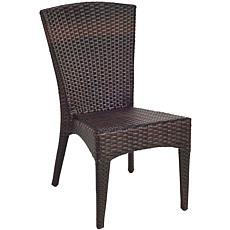 Safavieh Wicker-look Outdoor Side Chairs - Set of 2