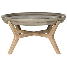 Safavieh Wynn Modern Conrete Round Coffee Table
