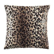"Safavieh Zahara Cheetah 20"" x 20"" Pillow"