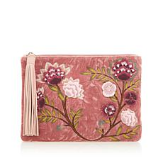 Sam Edelman Azalea Pouch with Leather Trim