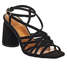 Sam Edelman Daffodil Leather Dressy Sandal