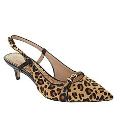 Sam Edelman Denia Haircalf and Leather Pump