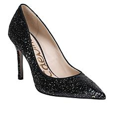 Sam Edelman Hazel Black Sequined High-Heel Pump
