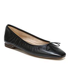 Sam Edelman Meg Leather Ballet Flat with Chain Heel