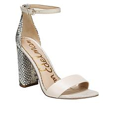 Sam Edelman Yaro Leather High-Heel Sandal