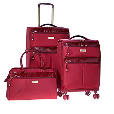 7e24550f89 Samantha Brown 3-piece Ultra Lightweight Luggage Set