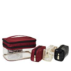 Samantha Brown Double Decker Cosmetic Case Set
