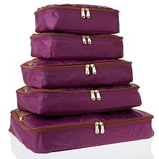 Samantha Brown Packing Cubes 5-piece Set