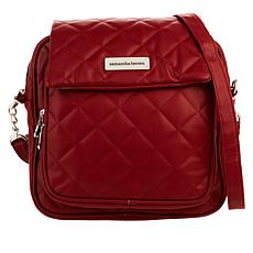 Samantha Brown Quilted Crossbody Bag