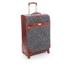 "Samantha Brown Tweed 25"" Upright Spinner"