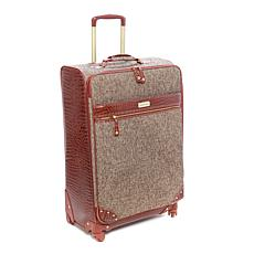 "Samantha Brown Tweed 30"" Upright Spinner"