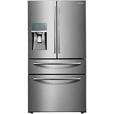 Samsung 27.8 CF French-Door Refrigerator - Stainless