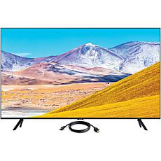 "Samsung 43"" TU8000 Crystal UHD 4K Smart TV with HDMI Cable"