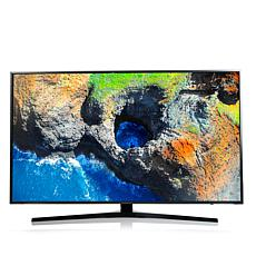 "Samsung 55"" 4K LED Ultra-HD Smart TV w/6.5' HDMI Cable"