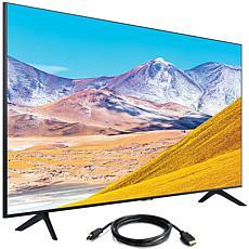 "Samsung 55"" TU8000 Crystal UHD 4K Smart TV (2020) with HDMI Cable"