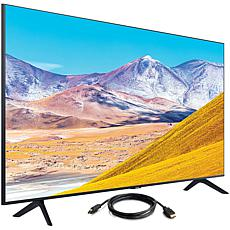 "Samsung 65"" TU8000 Crystal UHD 4K Smart TV (2020) with HDMI Cable"