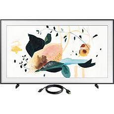 "Samsung 75"" The Frame QLED 4K UHD HDR Smart TV with HDMI Cable"
