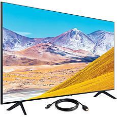 "Samsung 75"" TU8000 Crystal UHD 4K Smart TV (2020) with HDMI Cable"