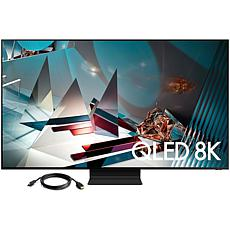 """Samsung 82"""" Q800T QLED 8K UHD HDR Smart TV with HDMI Cable"""