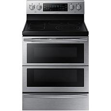 "Samsung Flex Duo 30"" Electric Oven - Black Stainless"