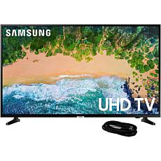 "Samsung NU6900 65"" 4K UHD Smart TV with 6' HDMI Cable"