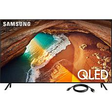 "Samsung Q60R 43"" QLED 4K UHD Smart TV with 6' HDMI Cable"
