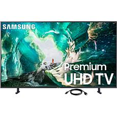 "Samsung RU8000 49"" 4K UHD Smart TV with 6' HDMI Cable"