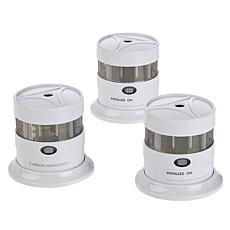 Samurai Mini Smoke Alarm 2-pack with Carbon Monoxide Alarm