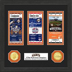 San Francisco Giants 3-Time World Series Ticket Collection