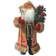 "Santa's Workshop 15"" Cardinal Claus"
