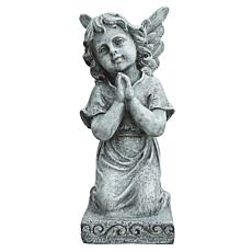 Santa's Workshop Grey Praying Angel Statue