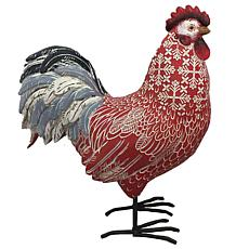 Santa's Workshop Rhode Island Red Rooster Figurine